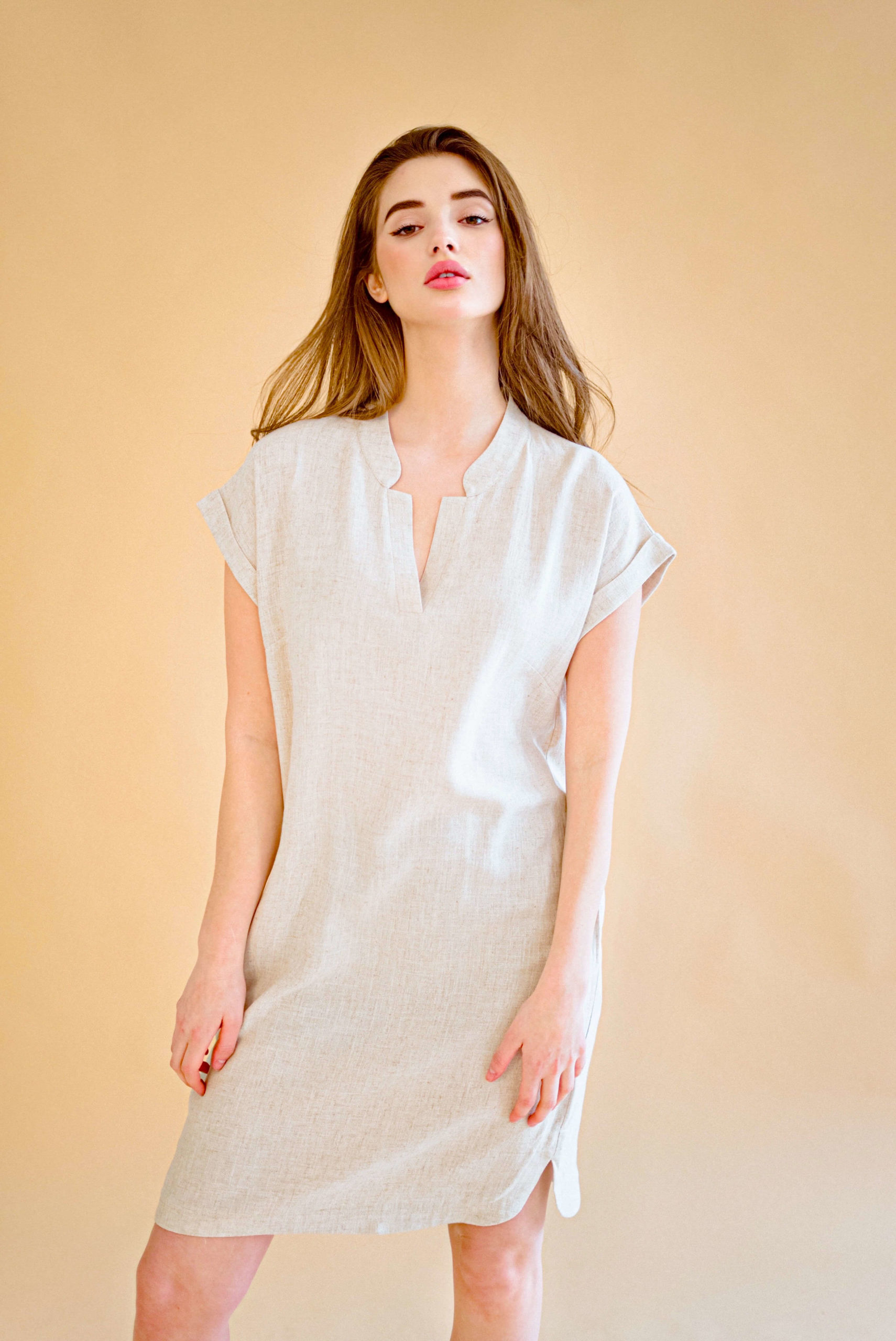 DRESS ALIX DAY BEIGE