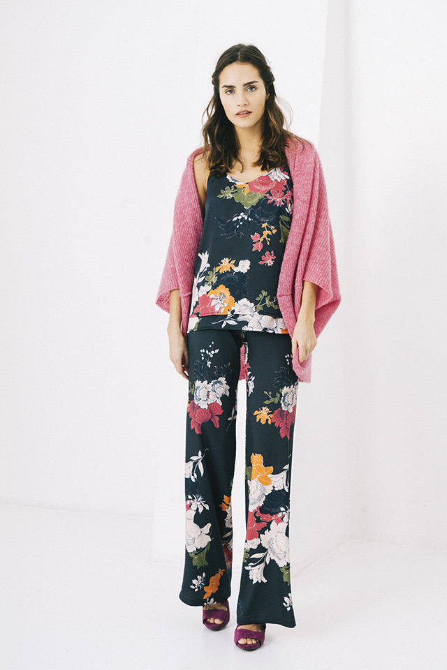 CARDIGAN CHLOE MOHAIR INDIEN / TOP TOGO DOLO / PANTS PRIMUS DOLO