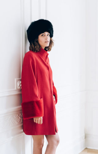 COAT COSMO BRUME RED